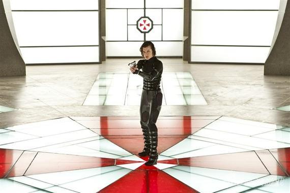《生化危机6》电影即将开拍 主演米拉自曝光头照图片
