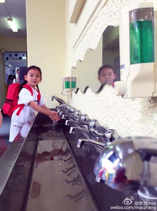 小汤圆洗手