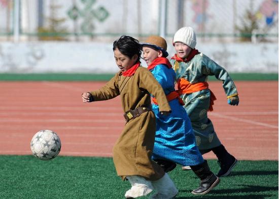 传统与现代,足球早已融入了内蒙古人的血液