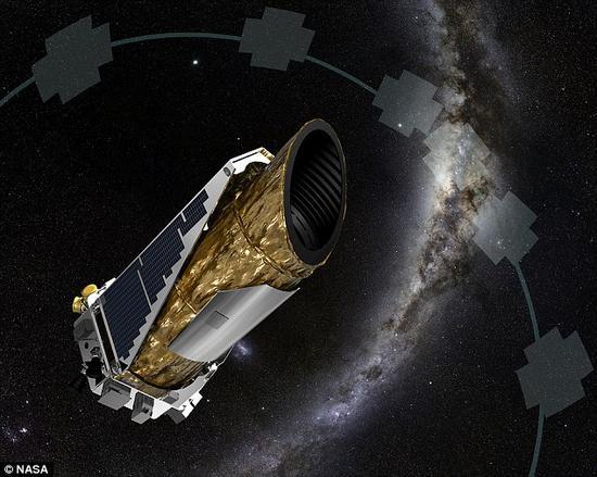 美国宇航局的开普勒太空望远镜。天文学家利用开普勒太空望远镜四年间收集的数据取得了这个发现。