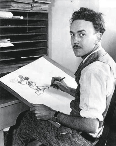 迪士尼公司传奇动画师乌伯·伊沃克斯(1901~1971)