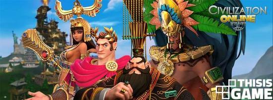 各文明的领导,从左往右依次是,埃及的哈特谢普苏特,罗马的尤利乌斯?凯撒,中国的秦始皇,阿兹特克的蒙特苏马二世