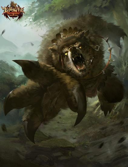 图17:英雄原画—暴熊
