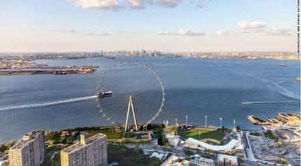 纽约摩天轮。