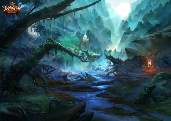 图1:迷雾森林原画