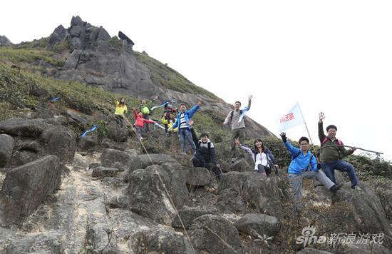 图1 清远佛冈观音山徒步