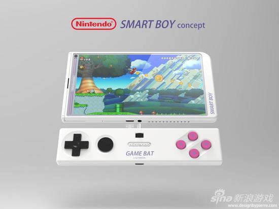 粉丝为任天堂设计游戏手机