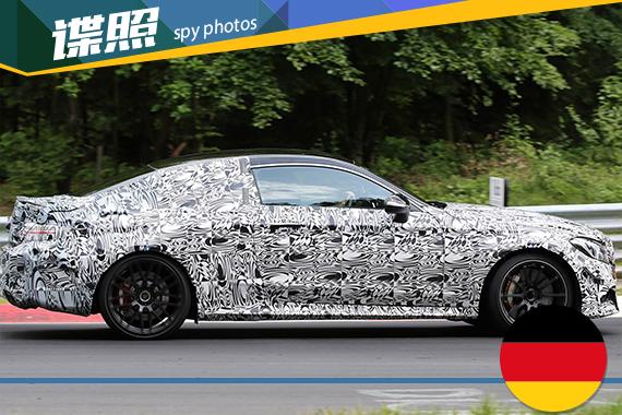 奔驰AMG C63 Coupe路试谍照曝光 9月首发