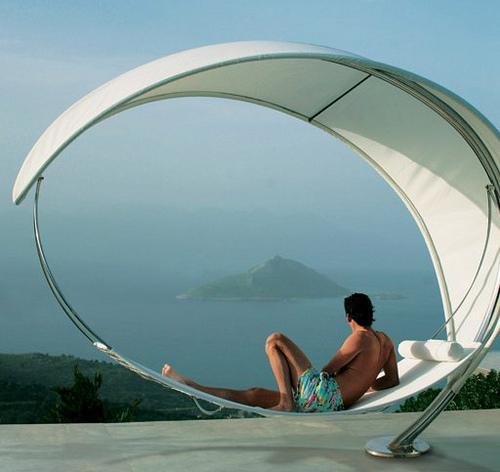 设计师大脑太逆天 夏天需要这样的吊床好纳凉