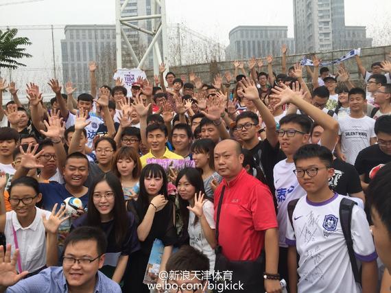 李玮锋与泰达解约离队 先回深圳休息再做打算