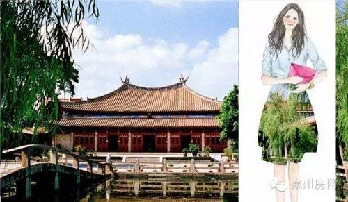 """府文庙(吴寿民 摄影) 如果泉州美景是个水当当的""""转纠姑娘"""",估计就是长这样。"""