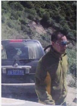 行车记录仪拍到的参与打人者的图片