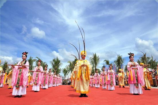 潭门传统民间祭海仪式