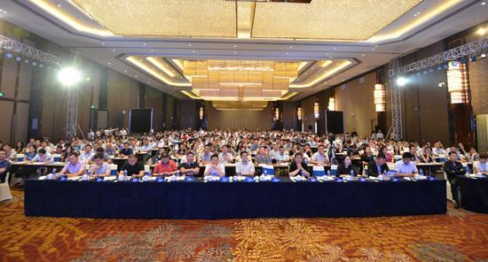 论坛活动_豫企五百会大型创投论坛活动现场