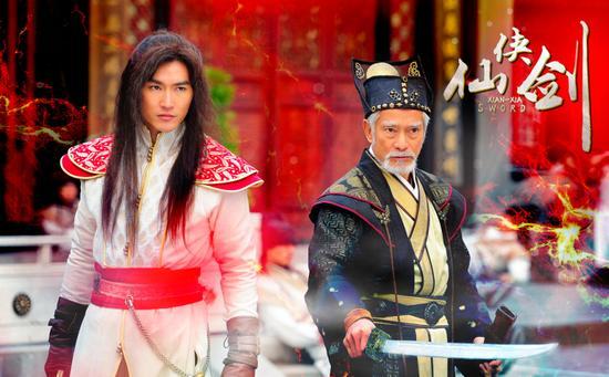 高雄(右)和陆昱霖(左)