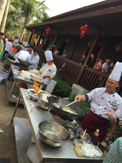 潭门海鲜名厨烹饪菜肴