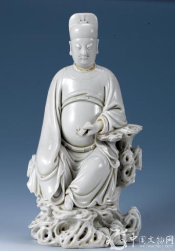 明代瓷聖何朝宗的瓷塑作品 文昌帝君