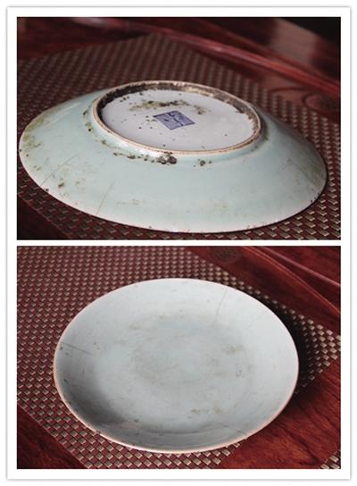 温先生收藏的瓷盘