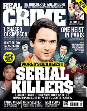 现实犯罪杂志的封面