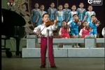 太棒了!朝鲜幼儿园小朋友合唱 个个都是演技派