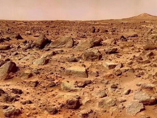 红色的火星是人类未来希望之所在。