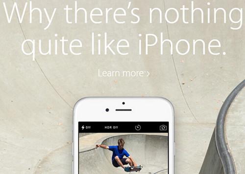 苹果官网新广告:为啥其他手机都没iPhone牛