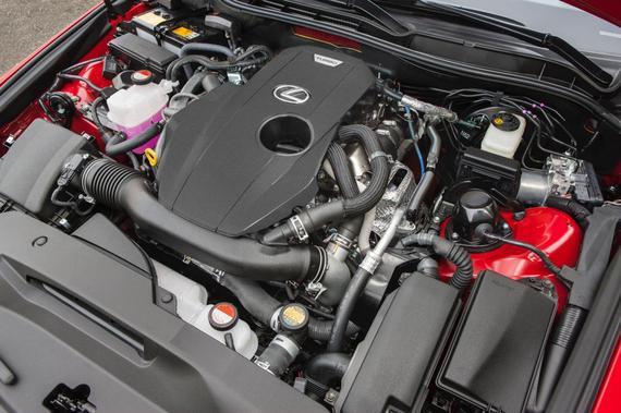 2016 Lexus IS 200t F Sport 08