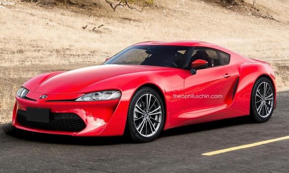 Next generation Toyota Supra render