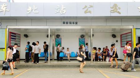 福州火车站公交总站31日要搬迁到火车站北广场西侧,这就意味着,以原图片