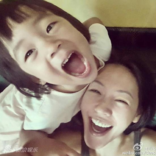 小S与女儿