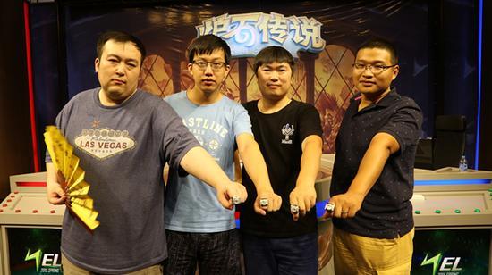 4枚冠军戒指