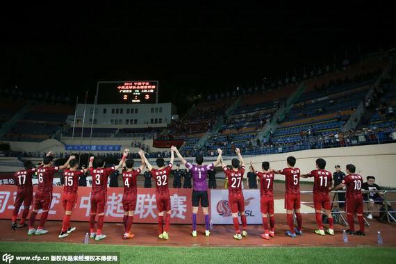 沪媒赞上港争冠形势最好 直言恒大或在8月掉队