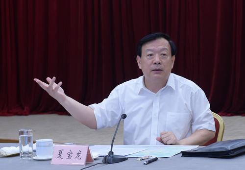 7月28日,夏宝龙书记在余姚市召开的姚江流域防洪排涝专题会议上讲话。