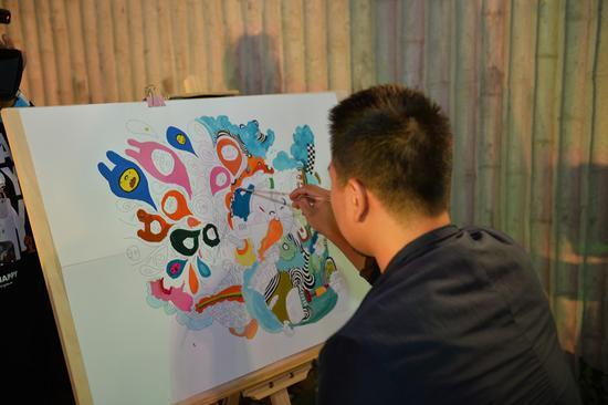 创意色彩作画步骤