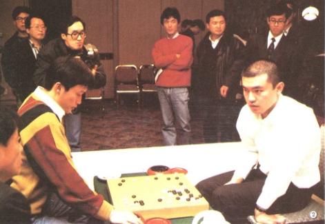 同期进行的三国擂台赛依田纪基胜刘昌赫