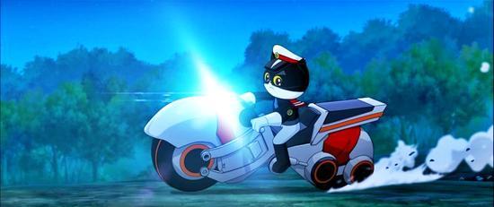 《黑猫警长之翡翠之星》黑猫警长炫酷归来