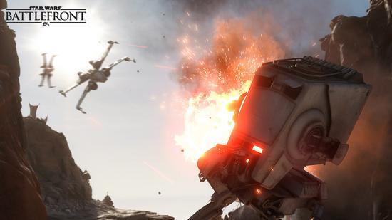 预购量惊人 EA承诺《星球大战:前线》不跳票