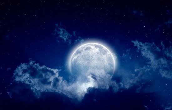地球人永远只能看到月球的正面。