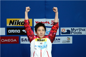世锦赛三米板何超力压奥运冠军封王 曹缘第四