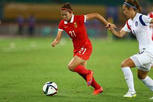 东亚杯-对手劲射破网 中国女足0-1负韩国女足