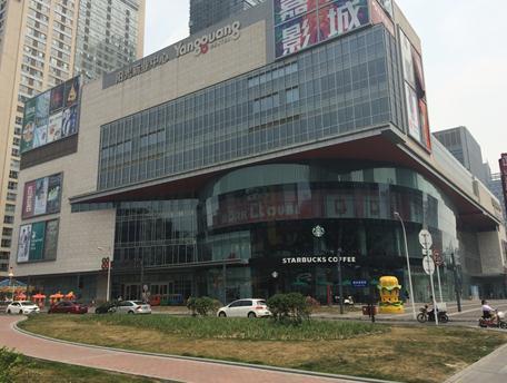 阳光新业中心:品牌少逛的人也少