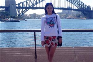专访跳水华裔美少女覃帆 喀山是爱情开始的地方