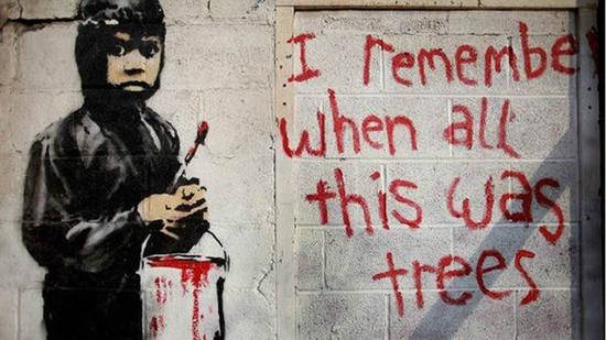《我记得,以前这里全是树木》(I Remember When All This Was Trees)(2010)