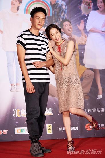 曹晏豪(左)和简��书在片中有很多敌手戏