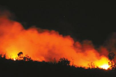 宜宾高县双河乡遭遇雷电天气并引发山林火情。