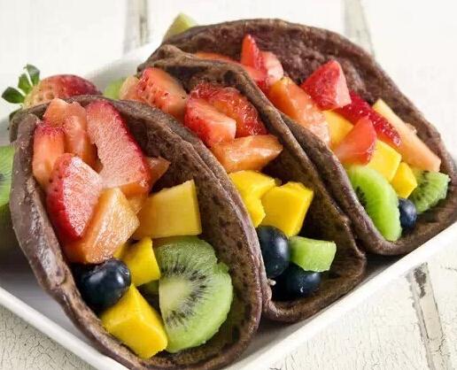 你还不知道怎么美美的吃水果早餐吗