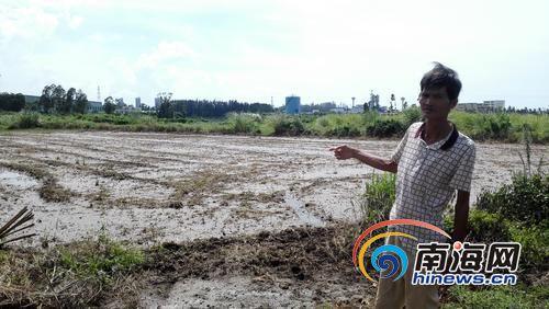 周边农田得不到水库的水灌溉