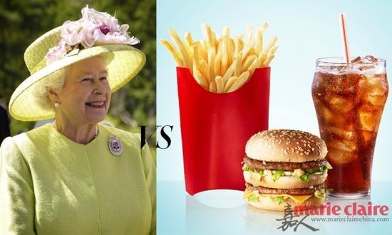 据说,女王的夜宵首选通常都是麦当当