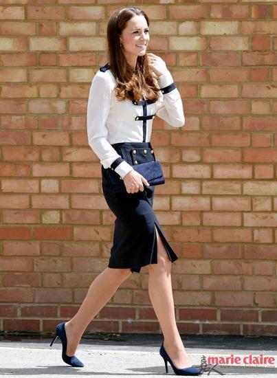 凯特王妃的身材一直都保持的很好!