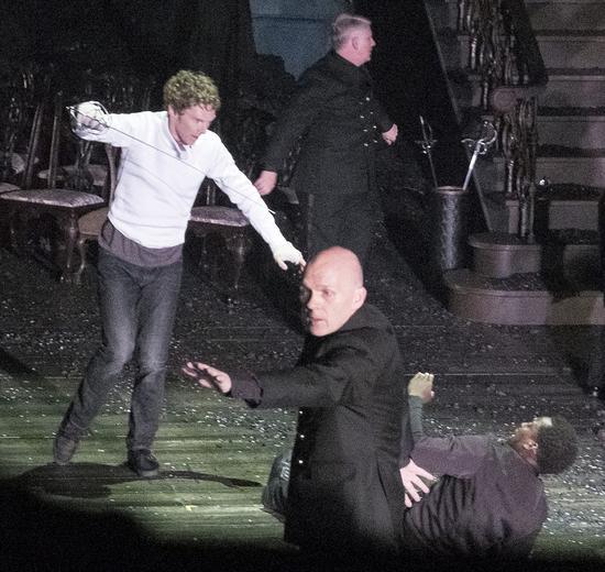 《哈姆雷特》首演